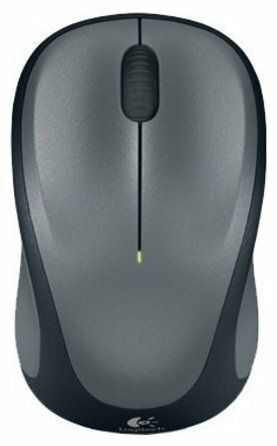Мышь Logitech Wireless Mouse M235 Grey-Black 910-003146 / 910-002201