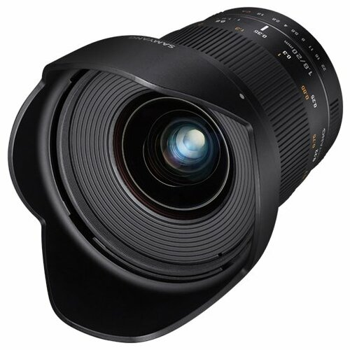 Фото - Объектив Samyang 20mm f/1.8 ED AS UMC Fujifilm X объектив samyang 85mm f 1 8 ed umc cs fujifilm x