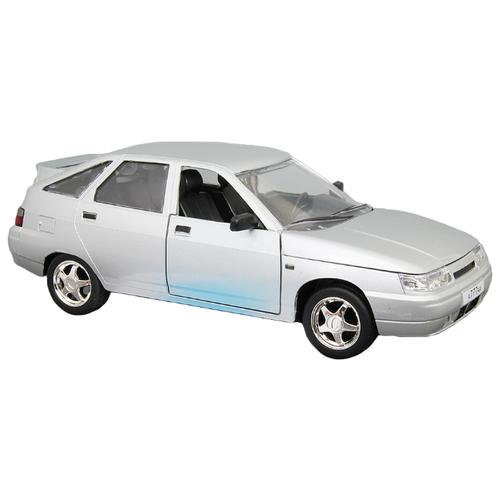 Легковой автомобиль Автопанорама ВАЗ 2112 (JB1200160/JB1200161/JB1200162) 1:22 22 см серебристый легковой автомобиль автопанорама мировые легенды ваз 2104 1 24 бежевый