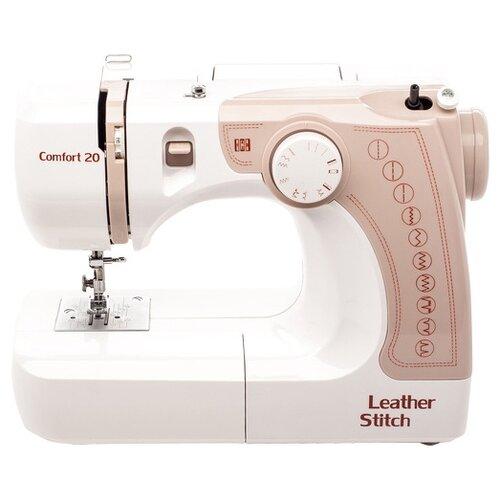 Швейная машина Comfort 20, бежевый/белый швейная машина comfort 12 белый