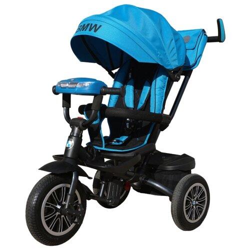 Трехколесный велосипед Shantou City Daxiang Plastic Toys BMW5S-M-N1210 голубойТрехколесные велосипеды<br>