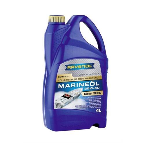 Моторное масло Ravenol Marineoil SHPD 25W40 Synthetic 4 л