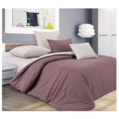 Постельное белье 2-спальное Текс-Дизайн Шоколадный крем, перкальКомплекты<br>