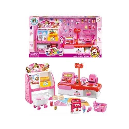 Купить Игровой набор Junfa toys Магазин мороженого 1966-A2, Игровые наборы и фигурки