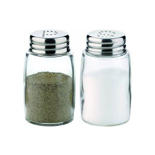 Tescoma Набор емкостей для соли и перца Classic 654010 прозрачный/стальной vigar набор емкостей для соли и