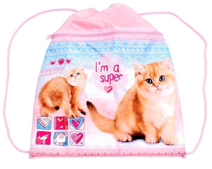 Prof-Press мешок для обуви Счастливый кот (МО-5963)