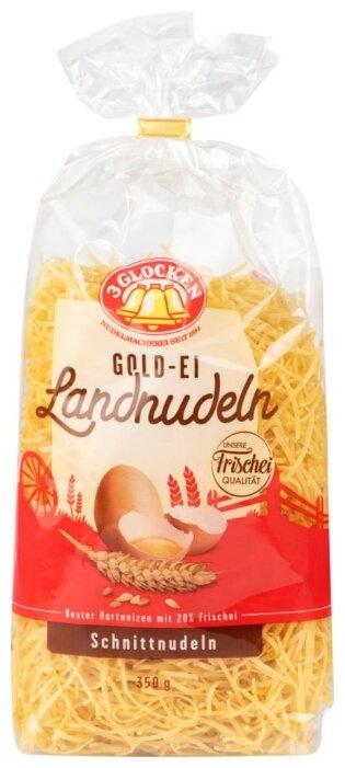 3 Glocken Лапша Gold-Ei Landnudeln Schnittnudeln, 350 г