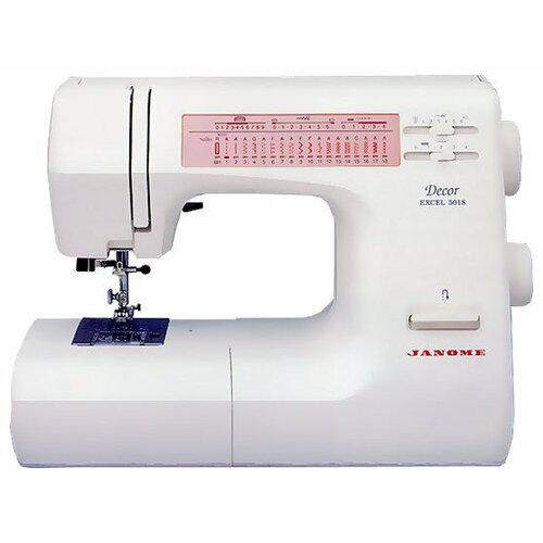 Швейная машина Janome Decor Excel 5018, белый