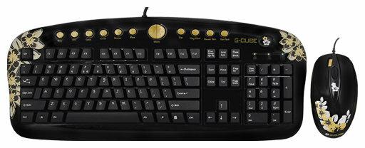 Клавиатура и мышь G-CUBE GKSA-2803SS USB