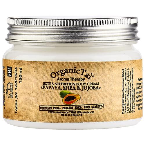 Крем для тела Organic TAI экстрапитательный Папайя, ши и жожоба, 150 млКремы и лосьоны<br>