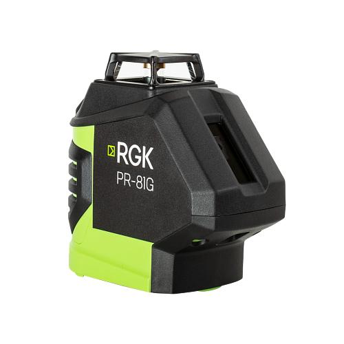 Лазерный уровень самовыравнивающийся RGK PR-81G уровень rgk u4040