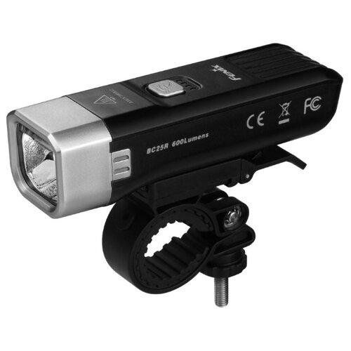 Передний фонарь Fenix BC25R Cree XP-G3 черный налобный фонарь fenix hl15 cree xp g2 r5 neutral white черный