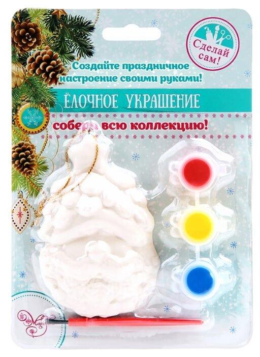 Феникс Present Новогоднее подвесное украшение Дед Мороз