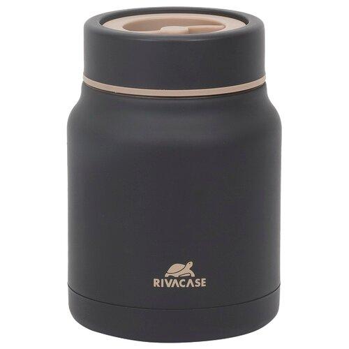 Термос для еды RIVACASE 90331BK, 0.5 л черный