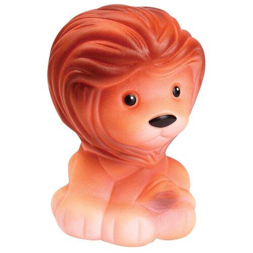 Купить Игрушка для ванной ОГОНЁК Лев (С-430) оранжевый, Игрушки для ванной