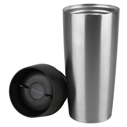 Термокружка Tefal Travel Mug K3080114, 0.36 л серебристый/черный