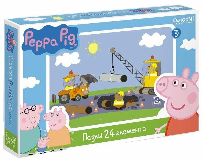 Пазл Origami Peppa Pig (01569), 24 дет.