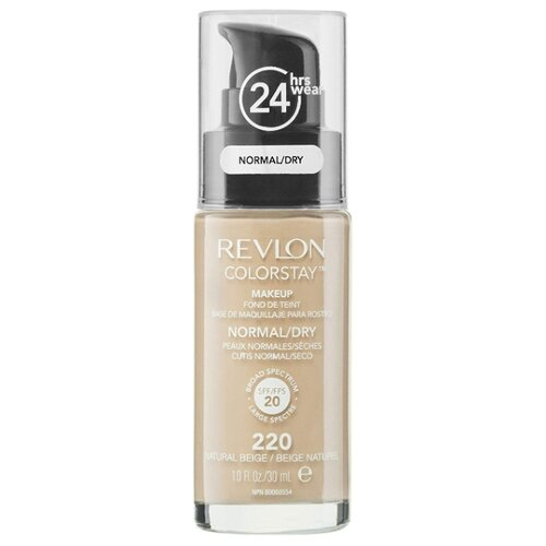 Revlon Тональный крем Colorstay Makeup Normal-Dry, 30 мл, оттенок: Natural beige 220 of revlon revlon colorstay moisture stain