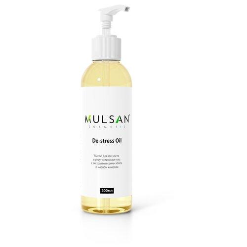 Купить Масло для тела MULSAN с экстрактом семян яблок и маслом камелии, 200 мл