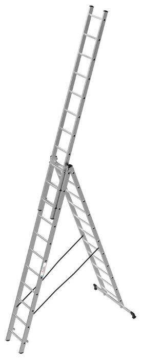 Лестница телескопическая 3-секционная ОЛИМП 1230311 A