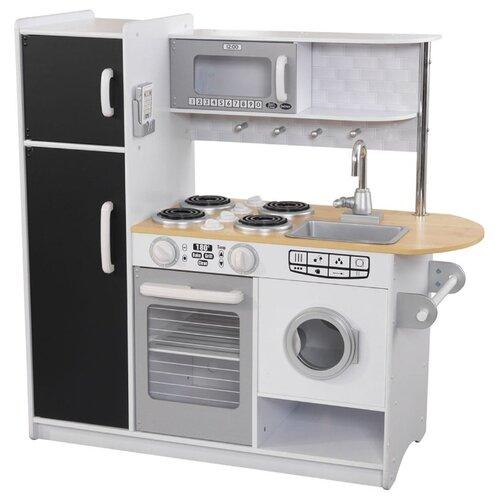 Фото - Кухня KidKraft 53352 белый/черный/серый деревянная кухня kidkraft uptown espresso 53260 ke