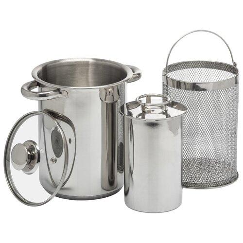 Набор посуды BROWIN 313515 для ветчинницы 4 пр. серебристый