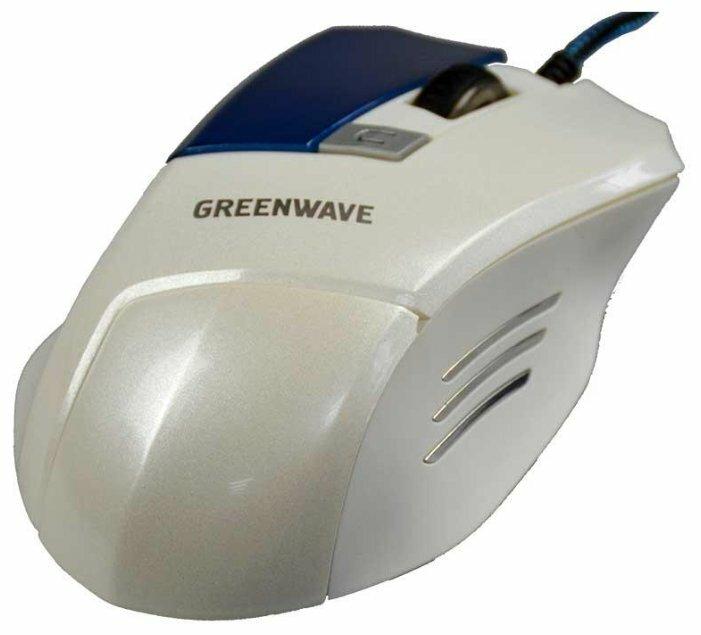 Мышь Greenwave MX-555L Grey-Blue USB