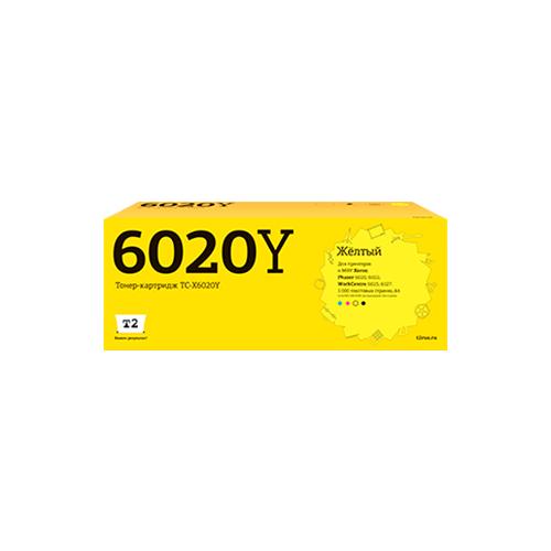 Картридж T2 TC-X6020Y, совместимый картридж t2 tc s203e совместимый