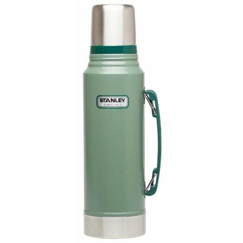 Классический термос STANLEY Classic Vacuum Insulated Bottle, 1 л зеленый