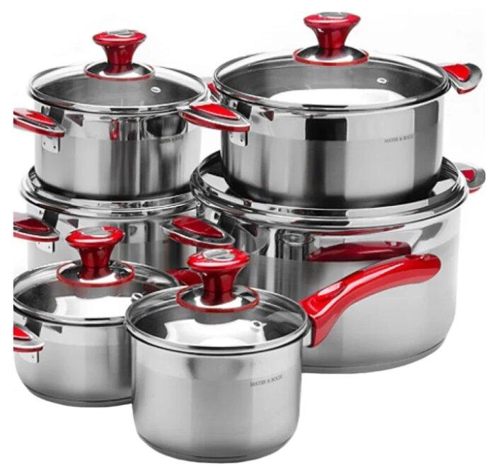 Набор посуды для приготовления Mayer & Boch 80007 12 пр.