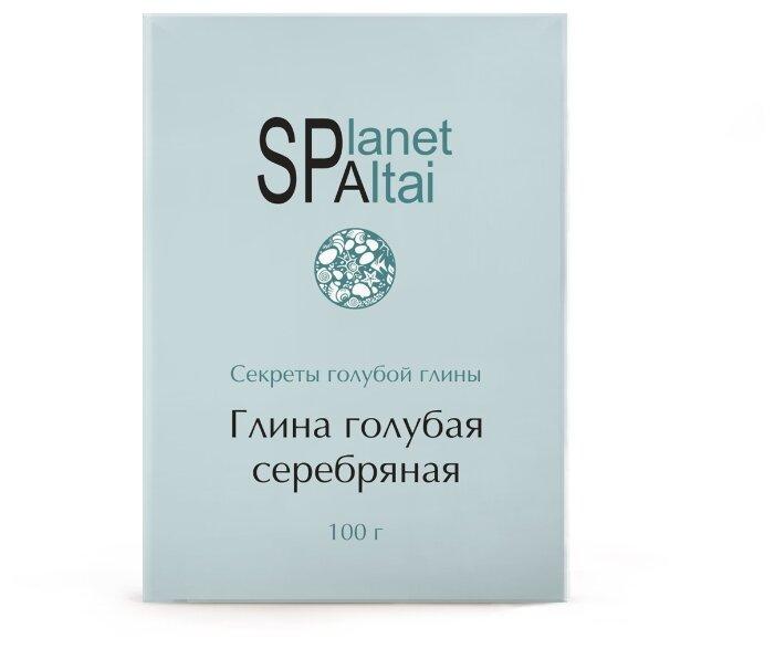 Planet Spa Altai голубая серебряная глина