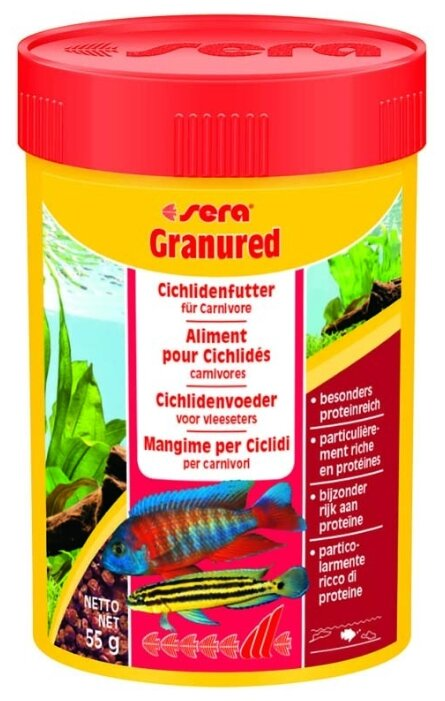 Сухой корм Sera Granured для рыб