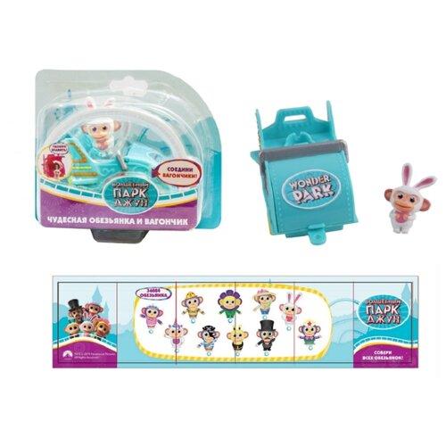Купить Игровой набор Wonder Park Волшебный парк Джун - Обезьянка Зайчик 36249, Игровые наборы и фигурки