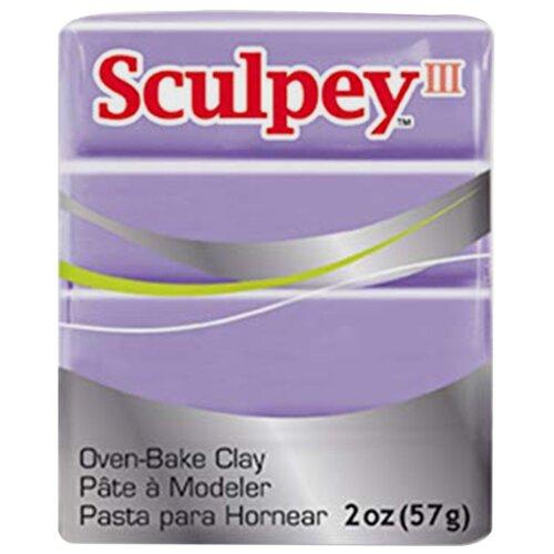 Купить Полимерная глина Sculpey III 355 (сливовый), 57г, Глина