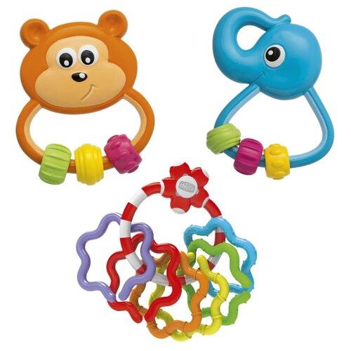 Набор Chicco Baby Senses 00007730000000 оранжевый/голубой/красныйПогремушки и прорезыватели<br>