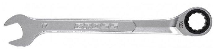 Gross ключ комбинированный трещоточный 14855