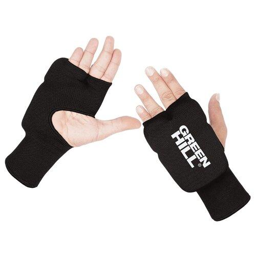 Тренировочные перчатки Green hill HP-6133 для карате черный L