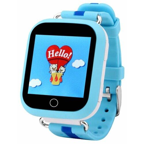 Детские умные часы c GPS Smart Baby Watch Q750 голубой детские умные часы c gps smart baby watch kt03 голубой синий