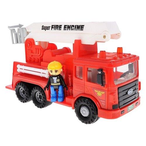 Пожарный автомобиль Daesung Toys Max (959-1), красный