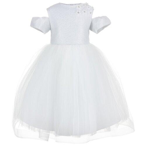 Платье Silver Spoon размер 122, белыйПлатья и сарафаны<br>