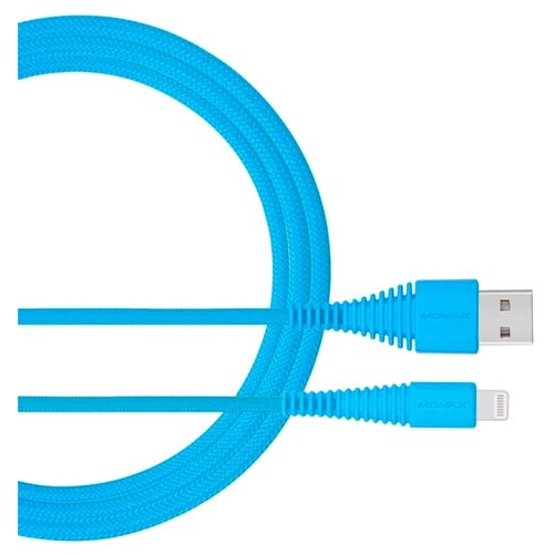 Купить Кабель MOMAX Tough Link Lightning Cable (DL8) 1.2 м sky blue