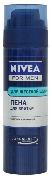 Пена для бритья для жесткой щетины Nivea