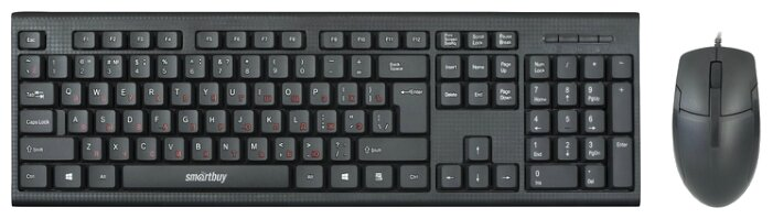 SmartBuy Клавиатура и мышь SmartBuy SBC-227367-K Black USB