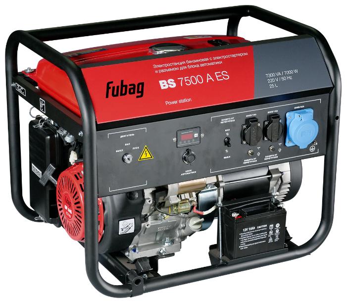 Бензиновый генератор Fubag BS 7500 A