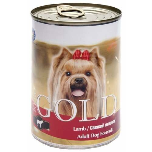Влажный корм для собак Nero Gold ягненок 410г