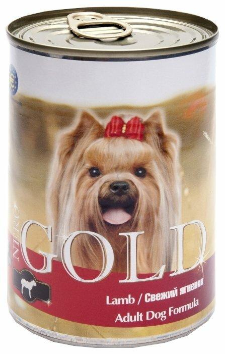 Корм для собак Nero Gold ягненок 410г