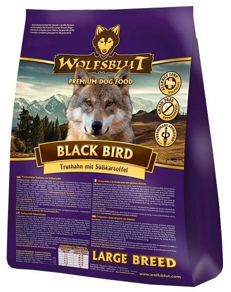 Корм для собак Wolfsblut Black Bird Large Breed (15 кг)