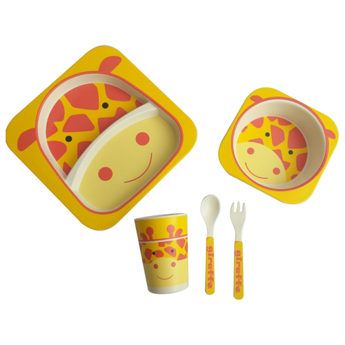 Комплект посуды Baby Ryan BF001 тигрята