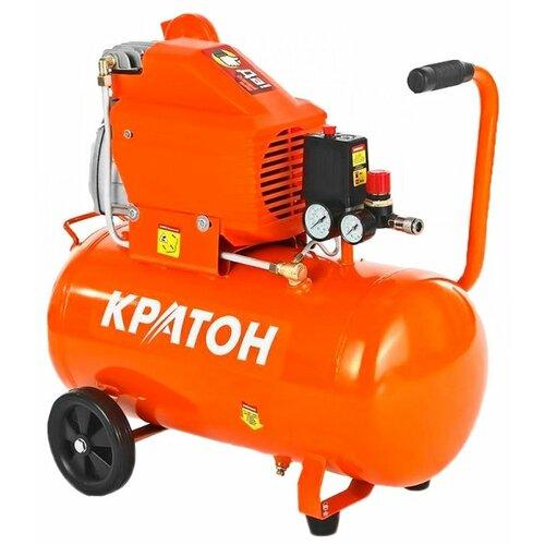 Компрессор масляный Кратон AC-280-40-DD, 40 л, 2 кВт компрессор масляный кратон ac 360 100 ddv 100 л 2 2 квт