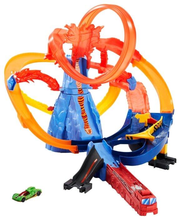 Трек Mattel Hot Wheels Volcano Escape FTD61